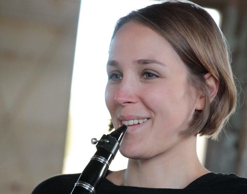 Klarinettistin Melina Paetzold Freude