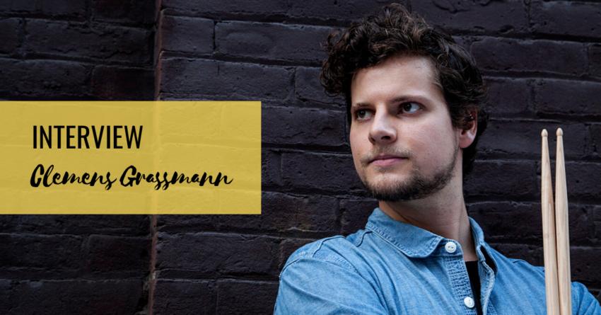 Schlagzeuger Clemens Grassmann